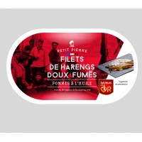 Filets de Harengs Doux Fumés 190 g